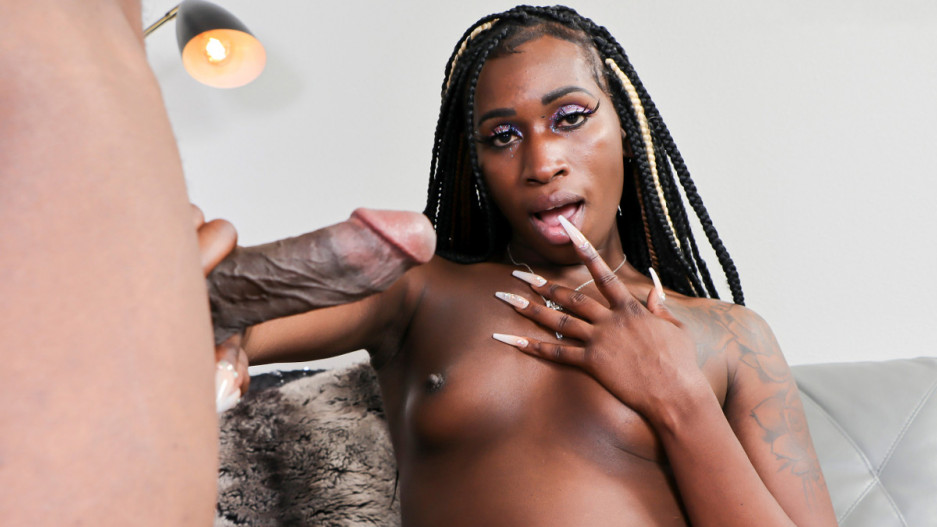 Nubian Barbie Gets Her Ass Fucked!
